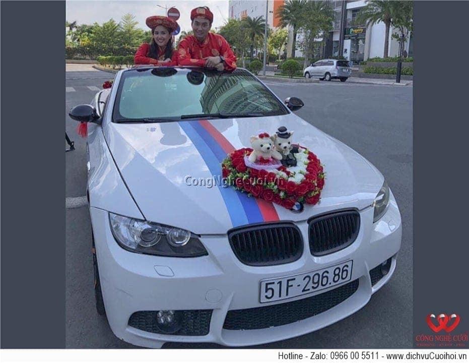 Cho thuê xe cưới - BMW mui trần
