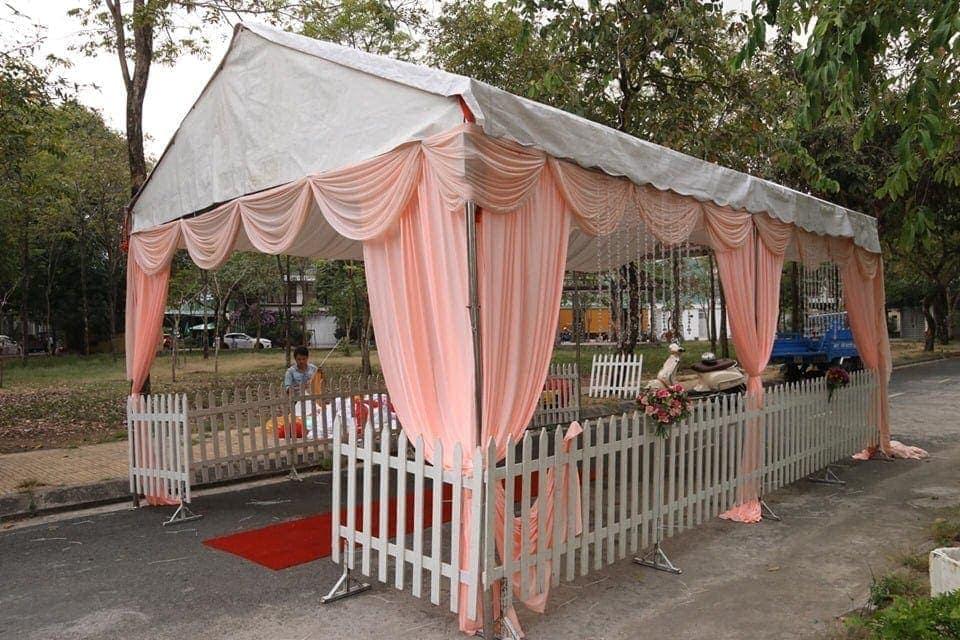 Nhà bạt khung rạp đám cưới, đám hỏi