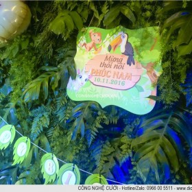Tổ chức trang trí sinh nhật bé