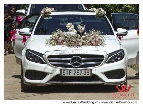 Dịch vụ cưới hỏi trang trí tiệc cưới trọn gói, xe cưới