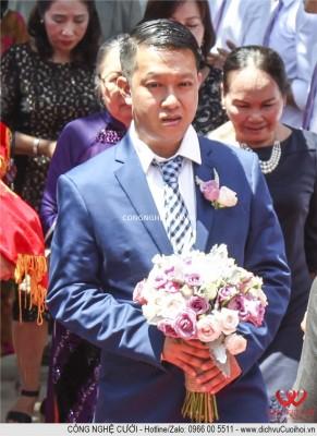 Dịch vụ cưới hỏi trang trí tiệc cưới trọn gói, hoa cưới, hoa cô dâu