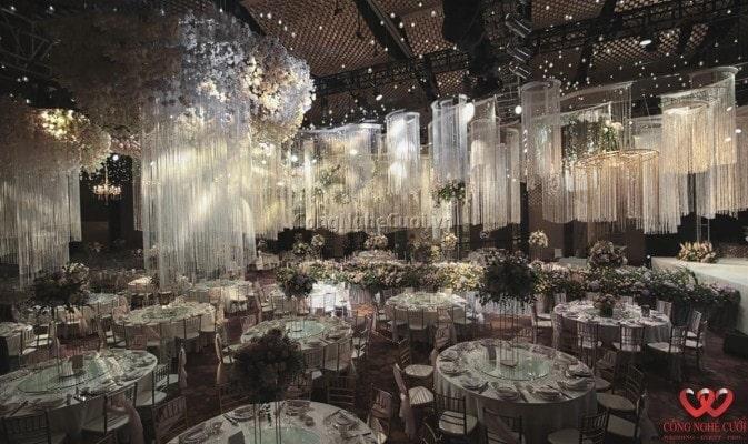 Công Nghệ Cưới - Trang trí tiệc cưới nhà hàng trọn gói