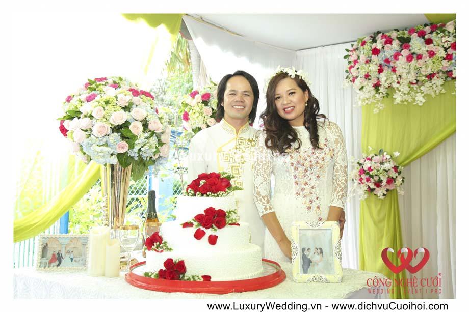 Trang trí tiệc kỷ niệm ngày cưới