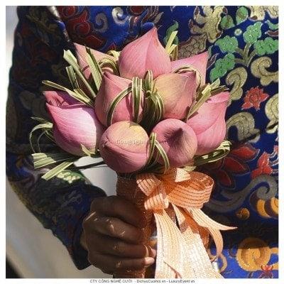 Hoa cưới hoa sen