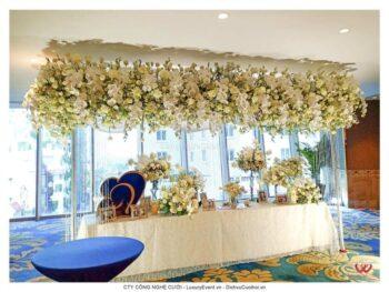 Trang trí tiệc cưới ca sĩ Bảo Thy