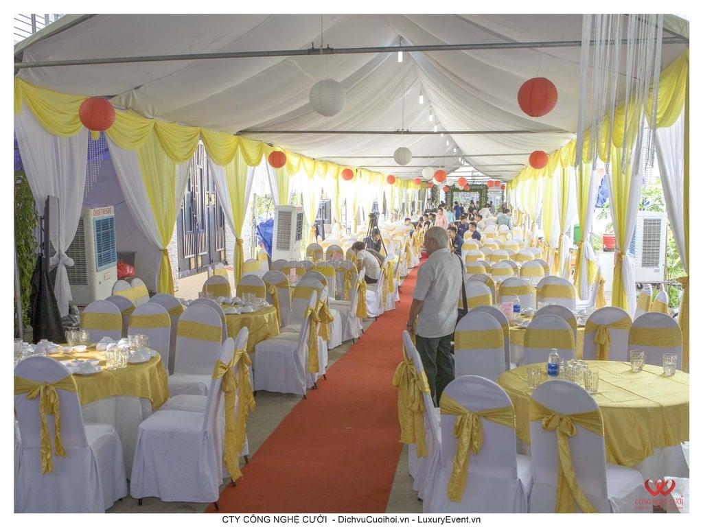 Tổ chức đám cưới tại nhà