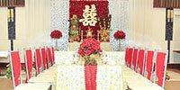 Công ty tổ chức đám cưới, Trang trí gia tiên