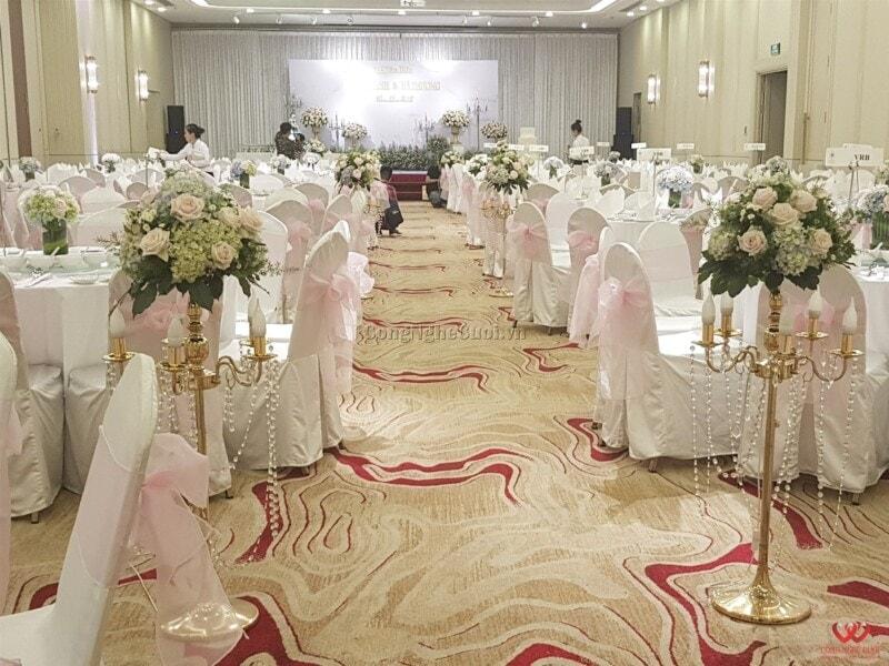 Trang trí nhà hàng, trang trí tiệc cưới