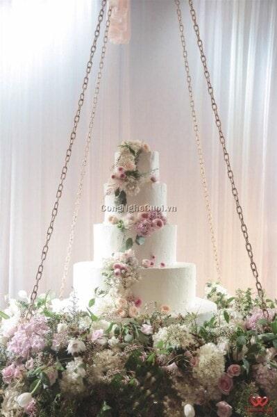 Trang trí nhà hàng tiệc cưới trọn gói