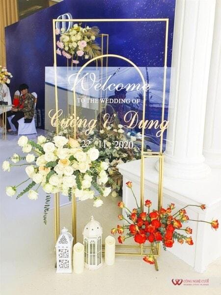 Trang tiệc cưới nhà hàng trọn gói