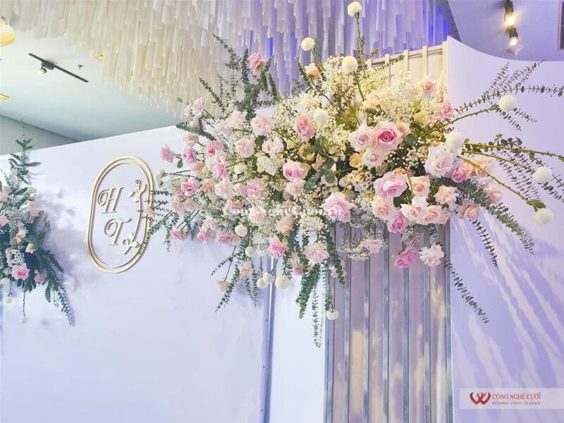 Trang trí tiệc cưới nhà hàng Galla Center