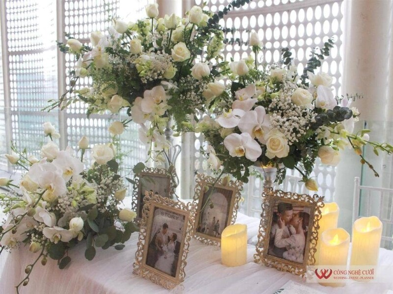 Trang trí tiệc cưới trọn gói