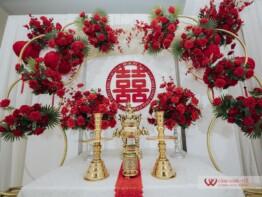 Trang trí lễ gia tiên trọn gói
